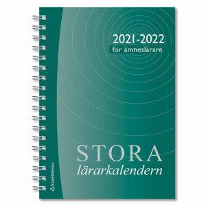 Stora ämneslärarkalendern 2021-2022 Omslag hos Kalenderspecialisten