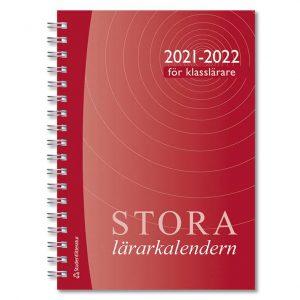 Stora klasslärarkalendern 2021-2022 Omslag hos Kalenderspecialisten