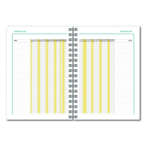 Fritzes Kalender 2021-2022 uppslag 3