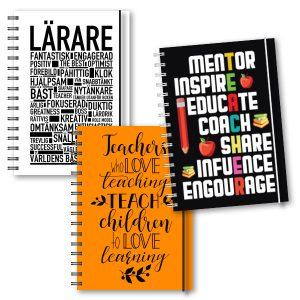 Personliga almanackor lärare