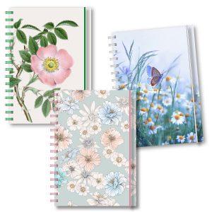 Personliga almanackor blommor