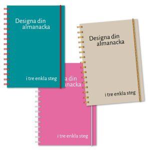 Personliga almanackor färg