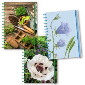 Personliga almanackor trädgård