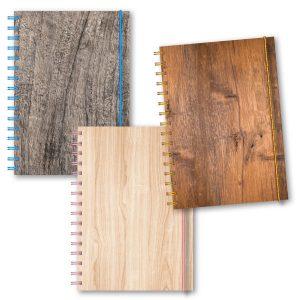 Personliga kalendrar träslag